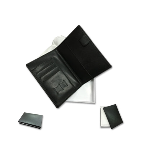 PU Leather Passport with card and sim card slot