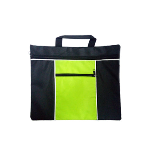 600D Document Bag with Zip Pocket