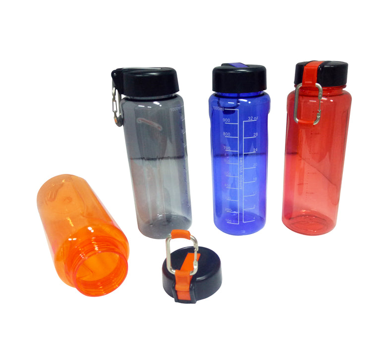 1000ml PC Bottle with Carabiner