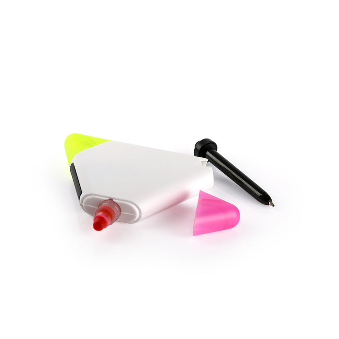 Moveis Multifunction Gel Ink Highlighter (White)