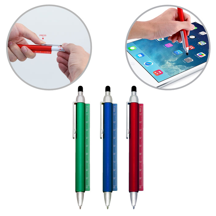 Ozerkix Pen With Rules And Stylus