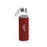 Ekaitz Glass Bottle w/Neoprene Pouch (Red)