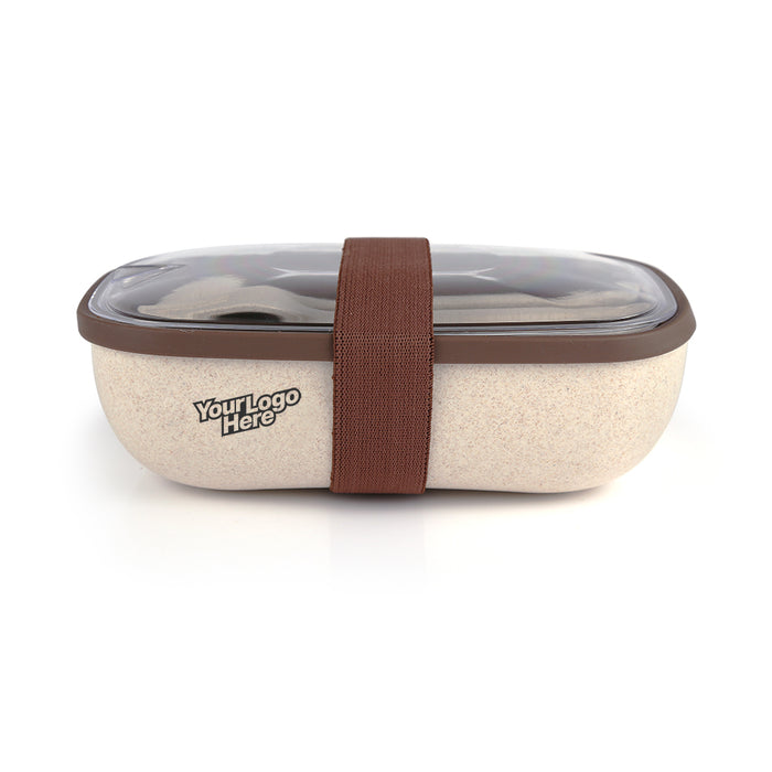 Glitterfeather Lunch Box (Brown)