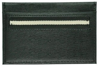 West Side Leather Card Case (Blk)