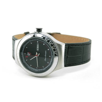 Lamborghini Marzi Watch (Silver with Black)
