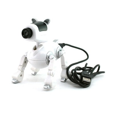 Doggie Webcam with Mic - White (AP)