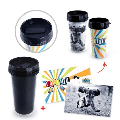 Topit Double Wall PP Tumbler (Black)