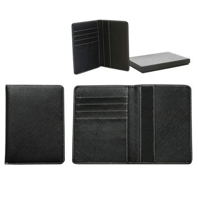 Bava Passport Holder (Black)