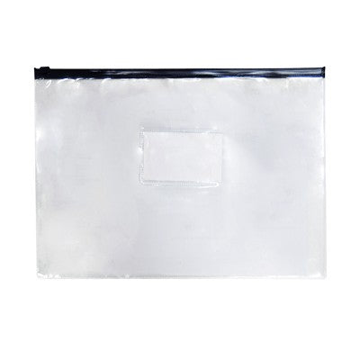 PVC Pouch (Transparent with Black)
