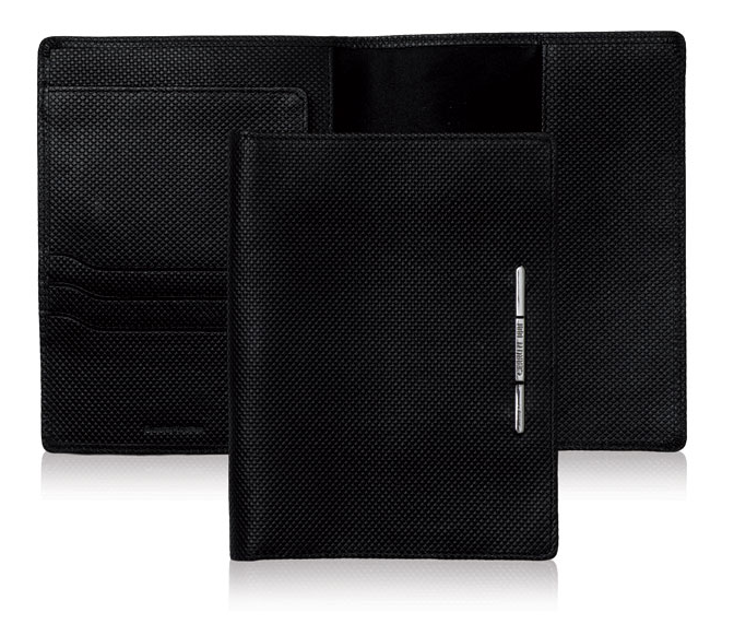 Real Passport Holder (Black)