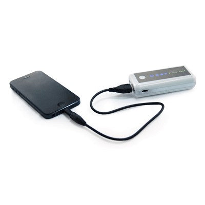 Crystalsage Portable Charger With Torch Light