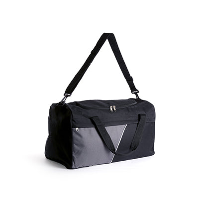 Travel Bag (Black With Grey)