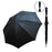 "30"" Vertas Manual Open Golf Umbrella (Black)"