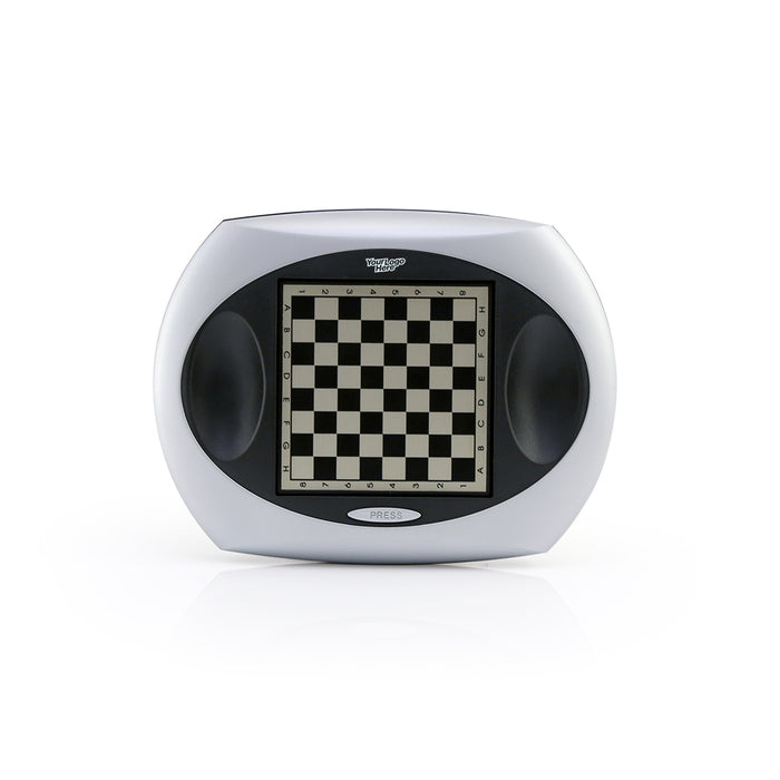 Magnetic Chess Set (Silver With Black)