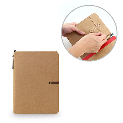 Itnix Notebook With Pen (Brown)
