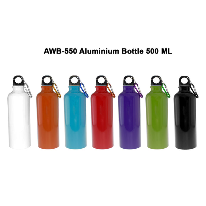 Aluminium Bottle with Carabiner 2
