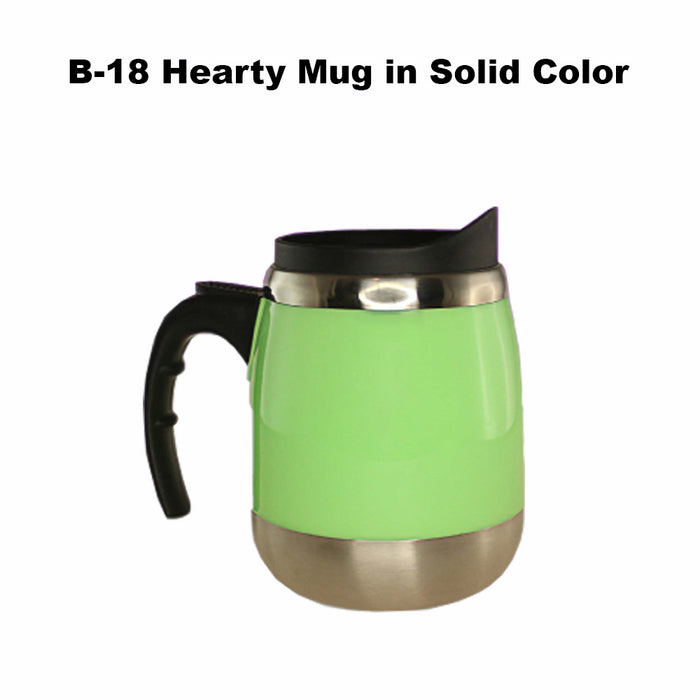 Hearty Mug in Solid Color
