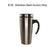 Stainless Steel Suction Tumbler