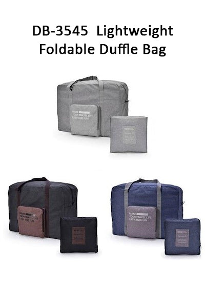 Lightweight Foldable Duffle Bag