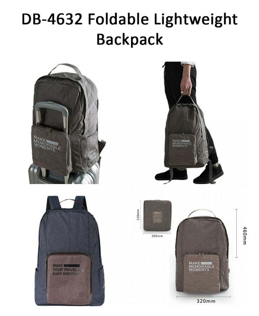 Foldable Lightweight Backpack