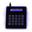 Calculator Mouse Pad with 4-Port USB hub