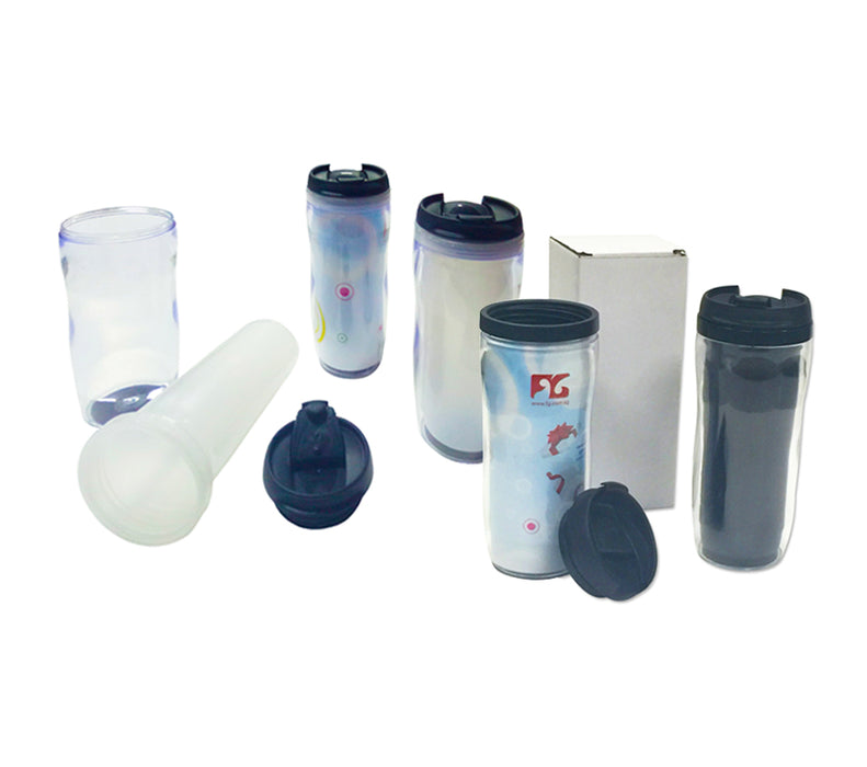 450ml Advertisement Paper Insert Tumbler