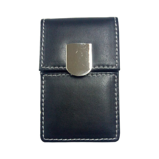 PU Namecard Holder with Magnetic Button