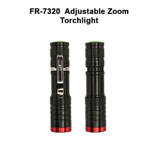 Adjustable Zoom Torchlight