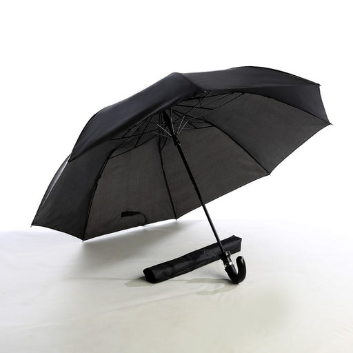 Two Fold Curve Handle Umbrella