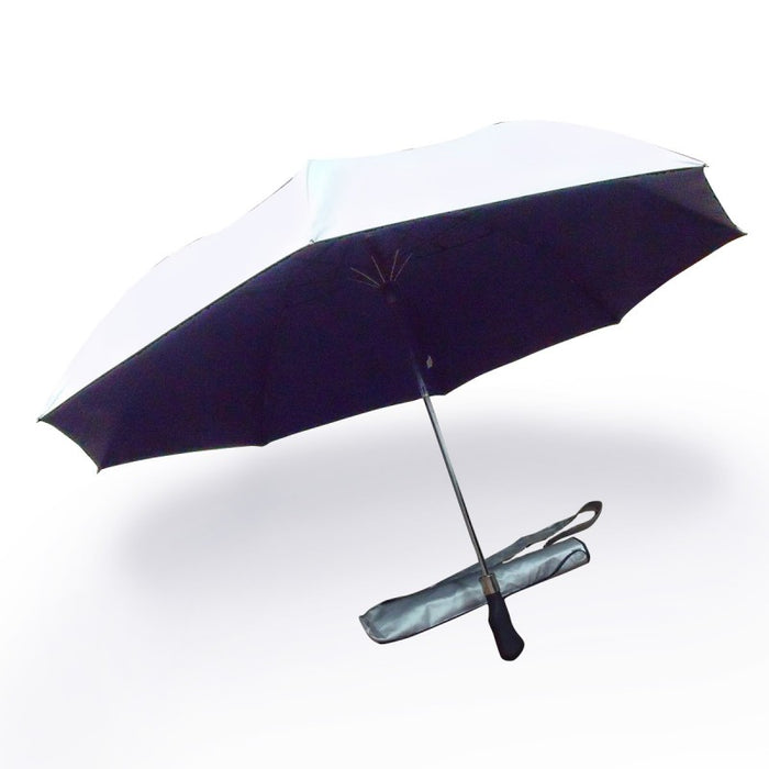 Two Fold, Windproof, Foldable Golf Umbrella 2