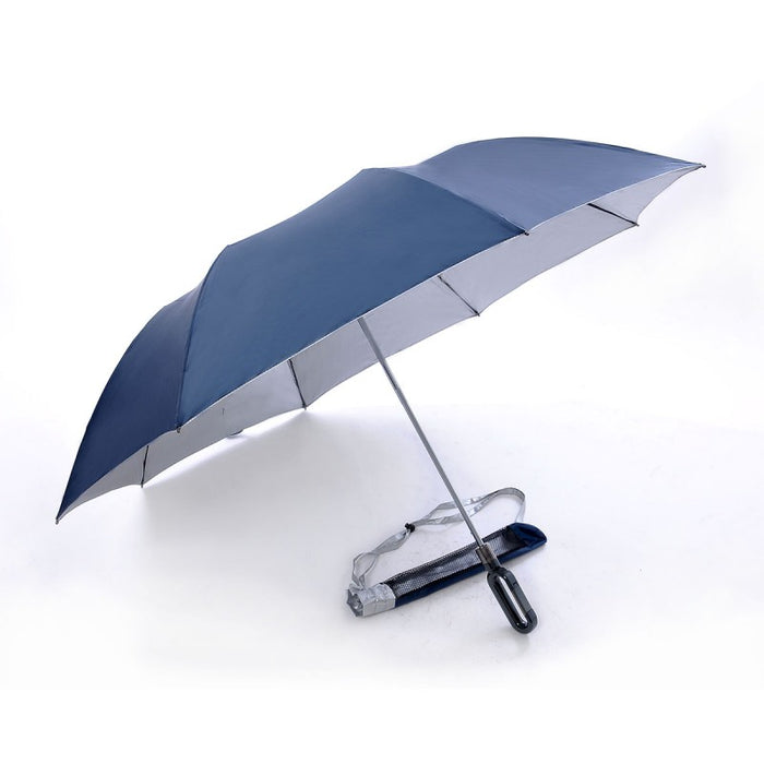 Two Fold, Windproof, Foldable Golf Umbrella 4