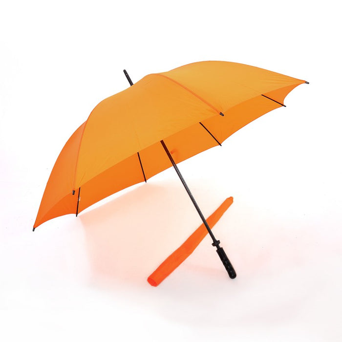 Double Ribs and Frame, Windproof Golf Umbrella