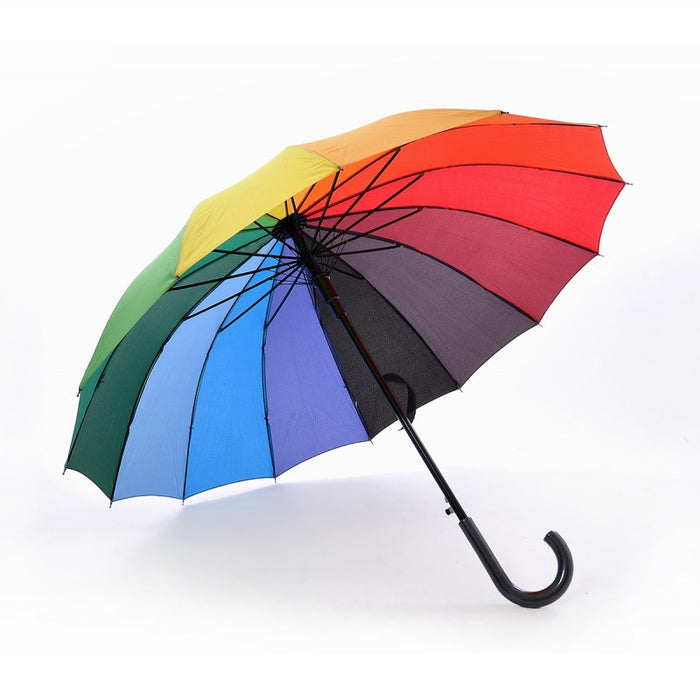 14 Panels Rainbow Umbrella
