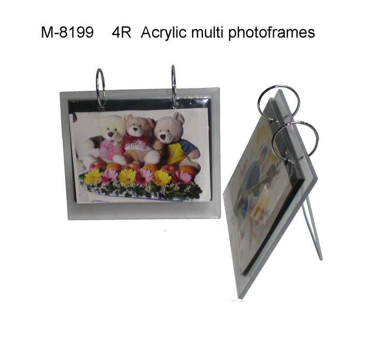 4R Multi Pages Acrylic Photoframe
