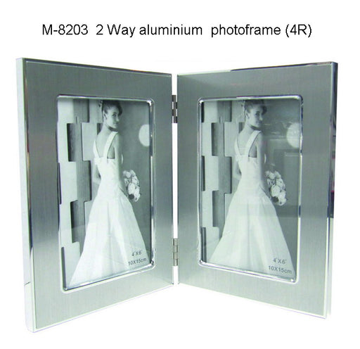 Two Way Aluminium Photoframe
