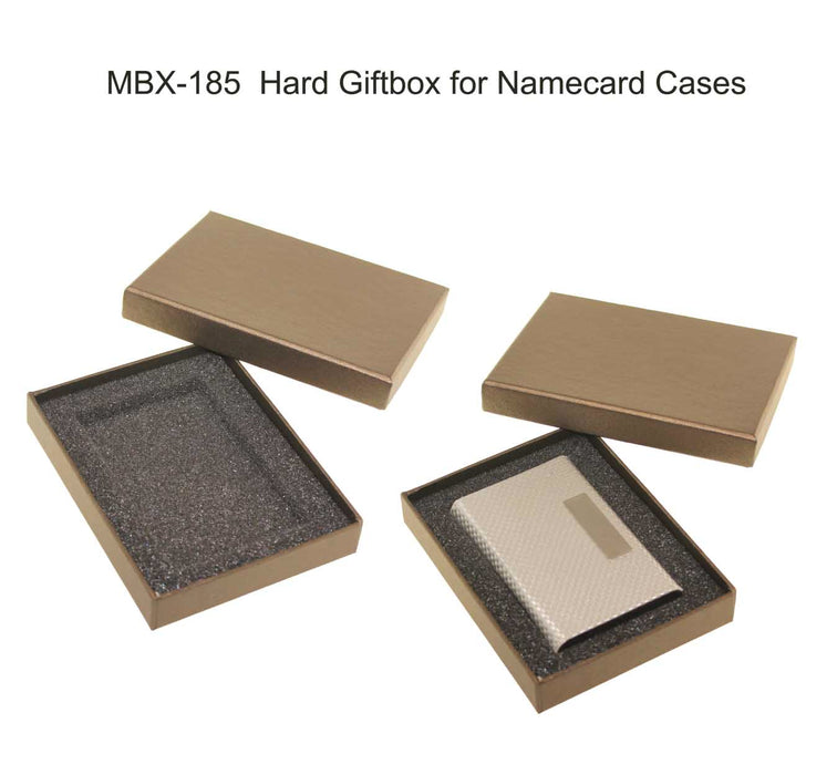 Hard giftbox for namecard cases