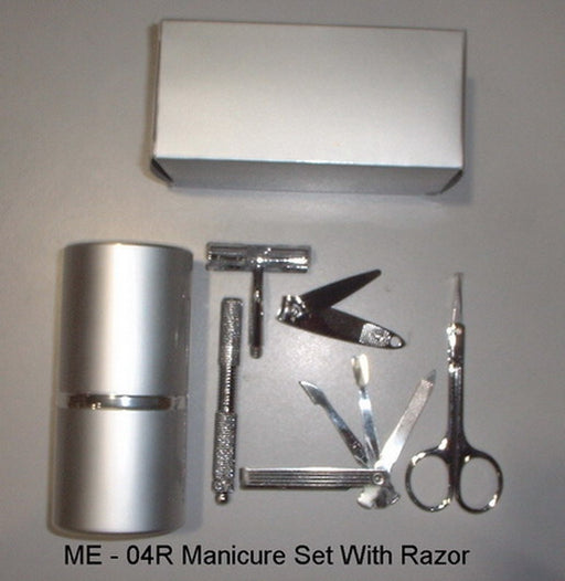 Manicure Set with Razor