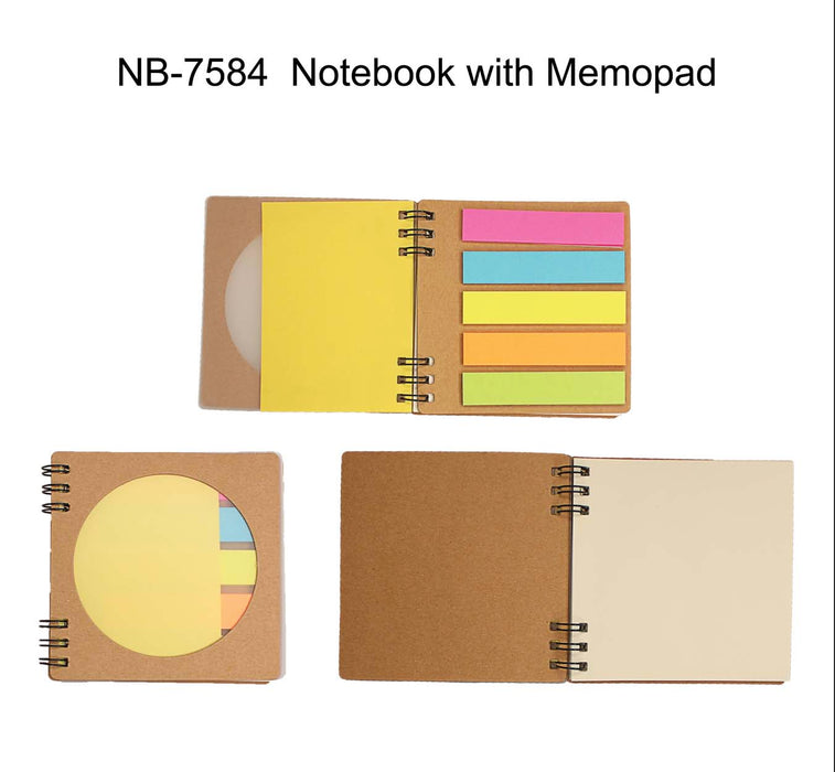 Eco-friendly Notebook with Memopad