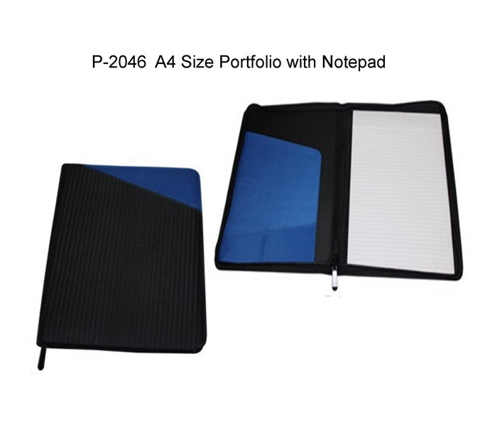 A4 Size Portfolio with Notepad