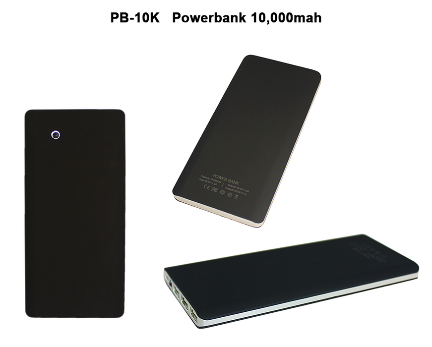 10,000 mAh Powerbank