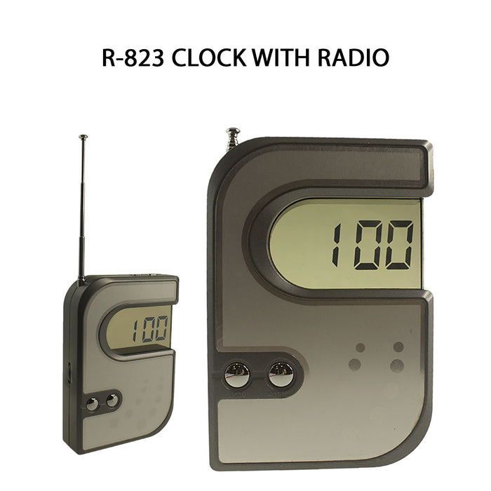 Clock with Radio