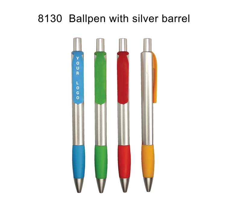 Ballpen with Silver Barrel 1