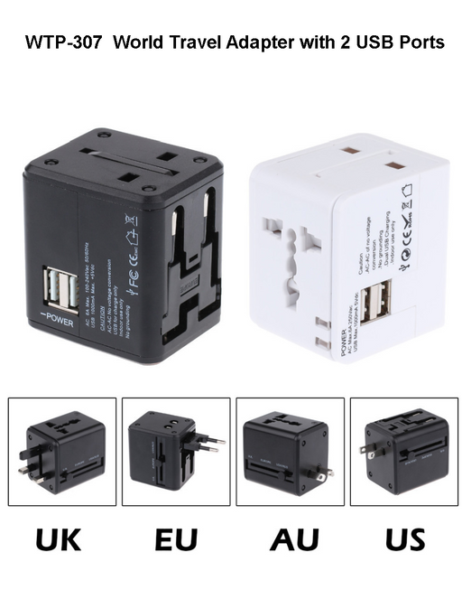 World Travel Adaptor 4