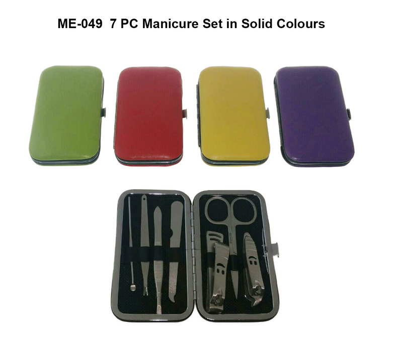 Manicure Set in Solid Colours