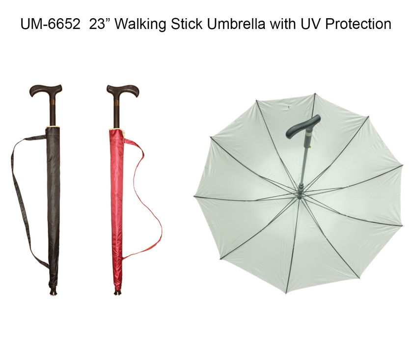 Walking Stick Umbrella with UV Protection