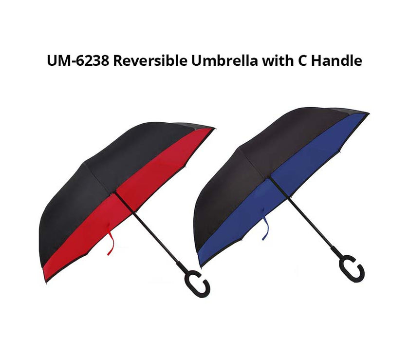 Reversible Umbrella with C Handle