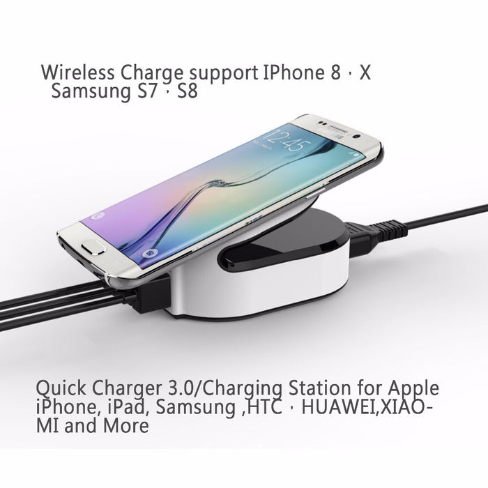 QI Universal Fast Wireless/USB Charging Wireless Charger