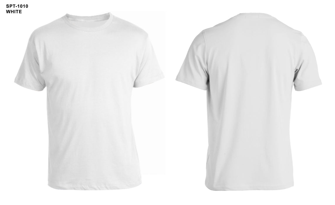 100% Supima Premium Cotton Round Neck Tee Shirt
