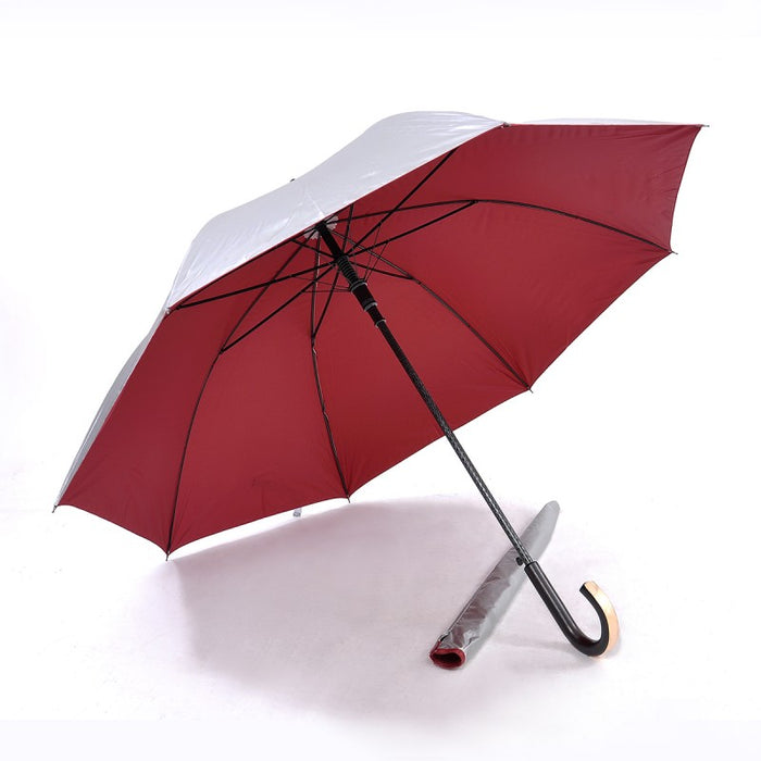 UV Coated, Fibre Glass Long Umbrella