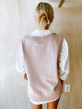 Load image into Gallery viewer, Blush Sweater Vest